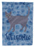 Korat #3 Cat Welcome Flag Garden Size CK4904GF by Caroline's Treasures