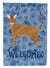 Ocicat Cat Welcome Flag Garden Size CK4932GF by Caroline's Treasures