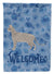 Safari #2 Cat Welcome Flag Garden Size CK4966GF by Caroline's Treasures