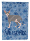 Sphynx #2 Cat Welcome Flag Garden Size CK4991GF by Caroline's Treasures