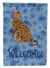 Ocicat #2 Cat Welcome Flag Garden Size CK5046GF by Caroline's Treasures