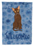 Suphalak Cat Welcome Flag Garden Size CK5069GF by Caroline's Treasures