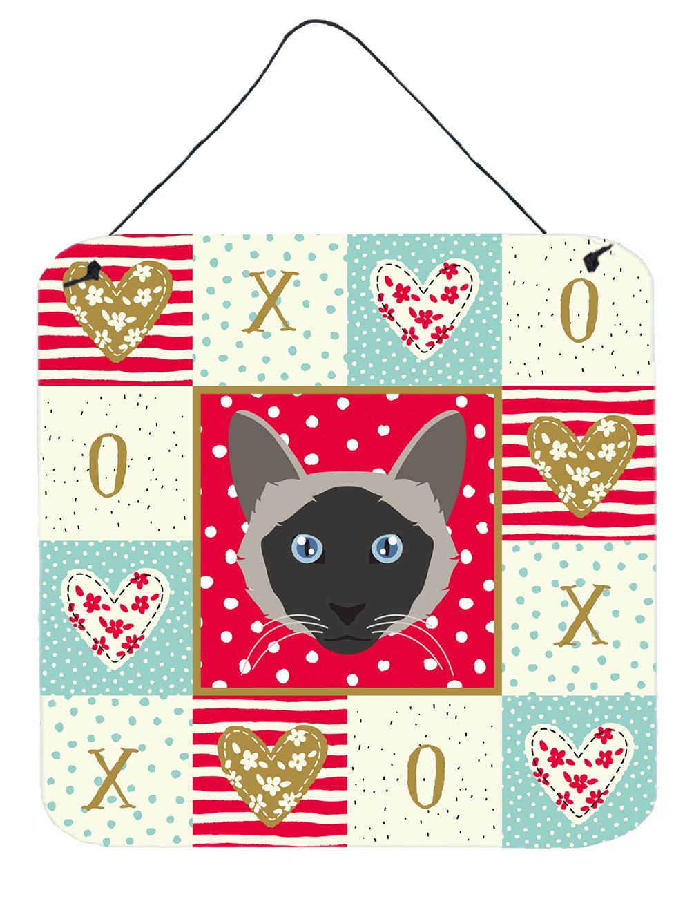 Buy this Balinese Cat Love Wall or Door Hanging Prints CK5087DS66