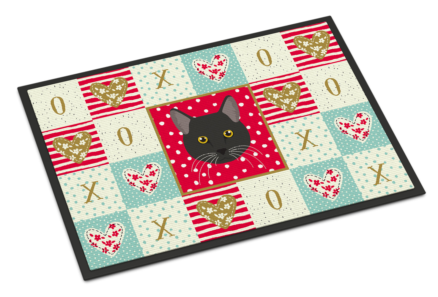 Buy this Bombay Cat Love Indoor or Outdoor Mat 18x27 CK5091MAT