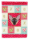 Colorpoint Shorthair Cat Flag Garden Size CK5106GF by Caroline's Treasures