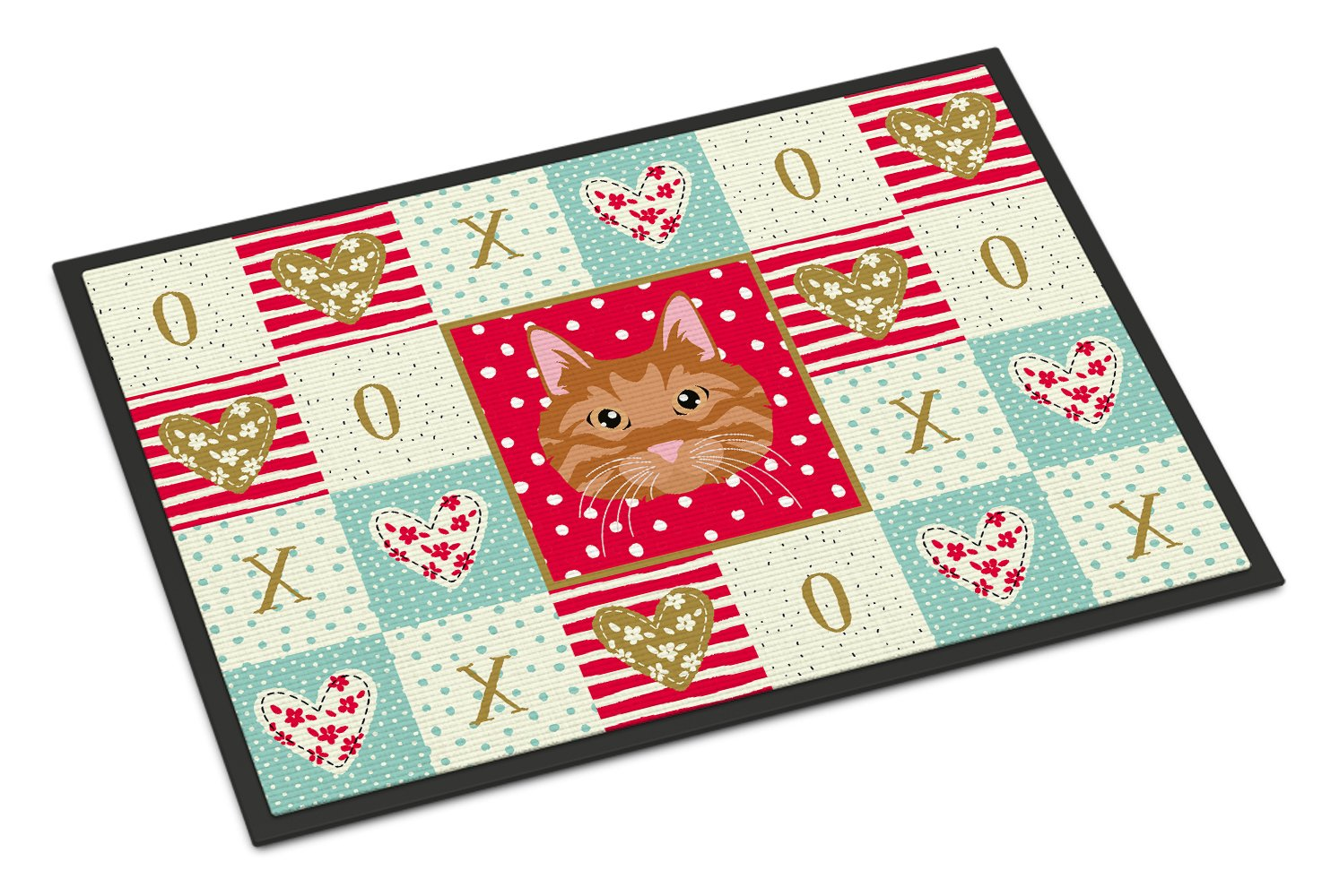 Buy this Kurilian Bobtail Cat Love Indoor or Outdoor Mat 24x36 CK5126JMAT