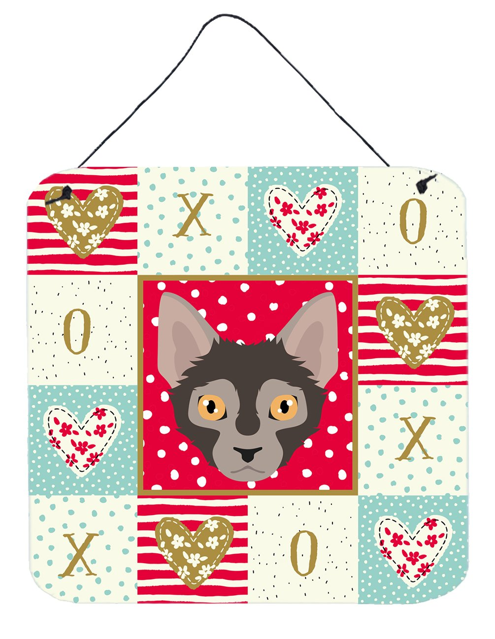 Buy this Lykoi Cat Love Wall or Door Hanging Prints CK5128DS66