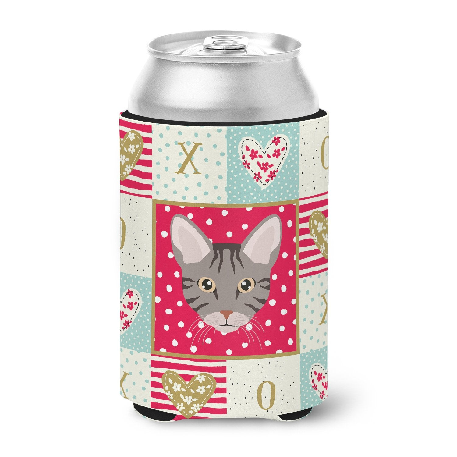 Buy this Ocicat Cat Love Can or Bottle Hugger CK5138CC