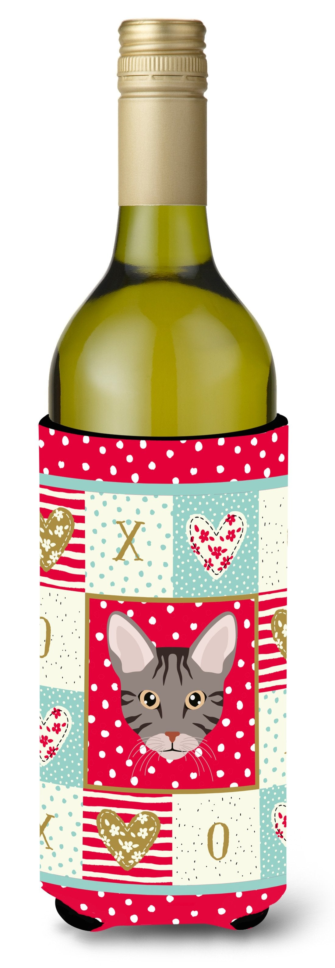 Buy this Ocicat Cat Wine Bottle Beverage Insulator Hugger CK5138LITERK