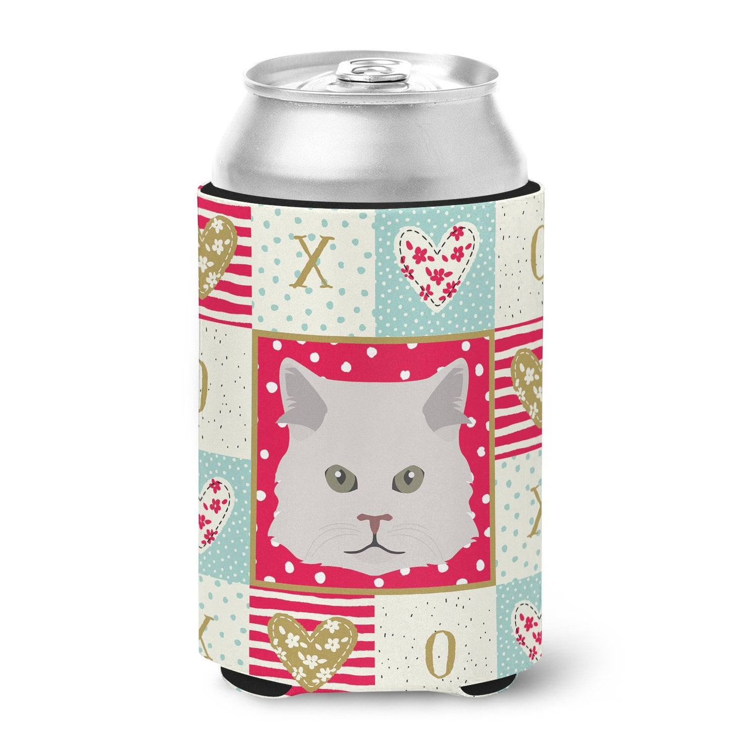 Persian Traditional Cat Love Can or Bottle Hugger CK5147CC by Caroline's Treasures