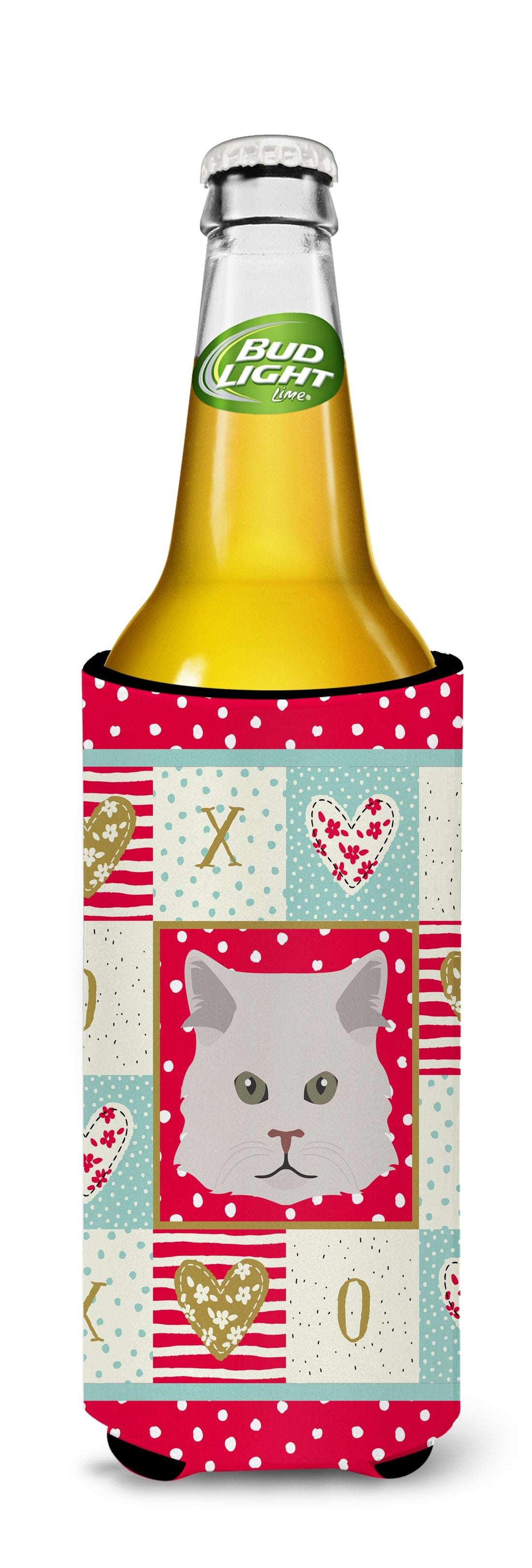 Persian Traditional Cat Michelob Ultra Hugger for slim cans CK5147MUK by Caroline's Treasures