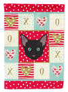 Russian White Black Cat Flag Garden Size CK5155GF by Caroline's Treasures