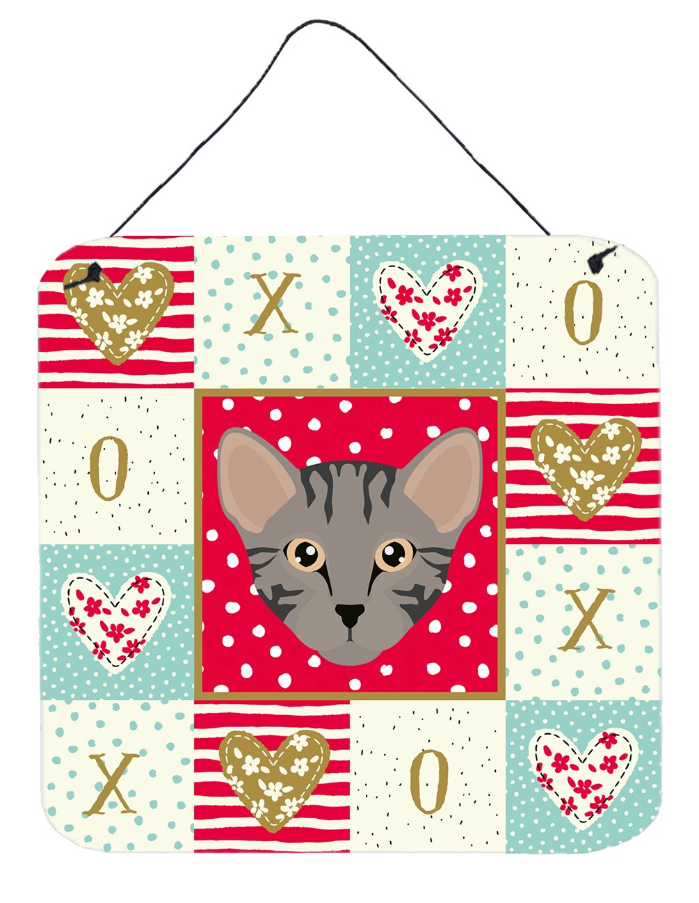 Buy this Safari Cat Love Wall or Door Hanging Prints CK5156DS66
