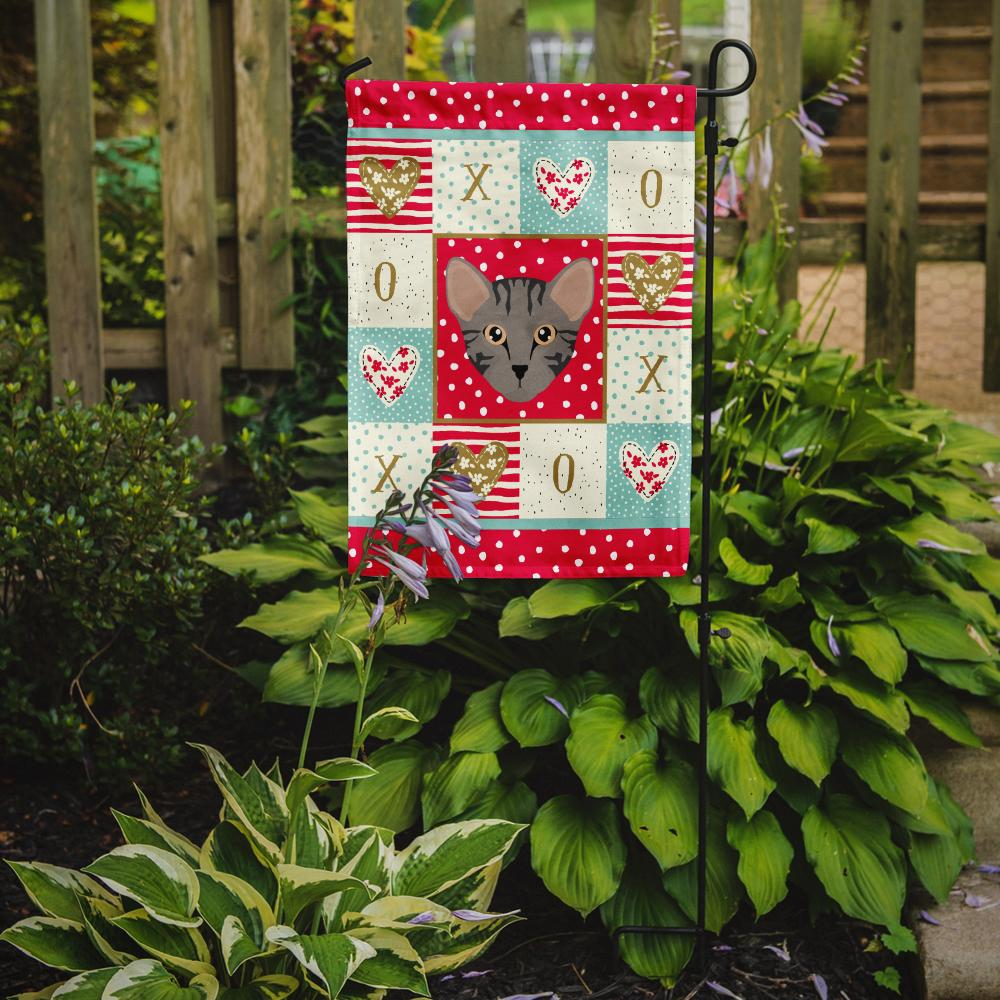 Safari Cat Flag Garden Size CK5156GF by Caroline's Treasures