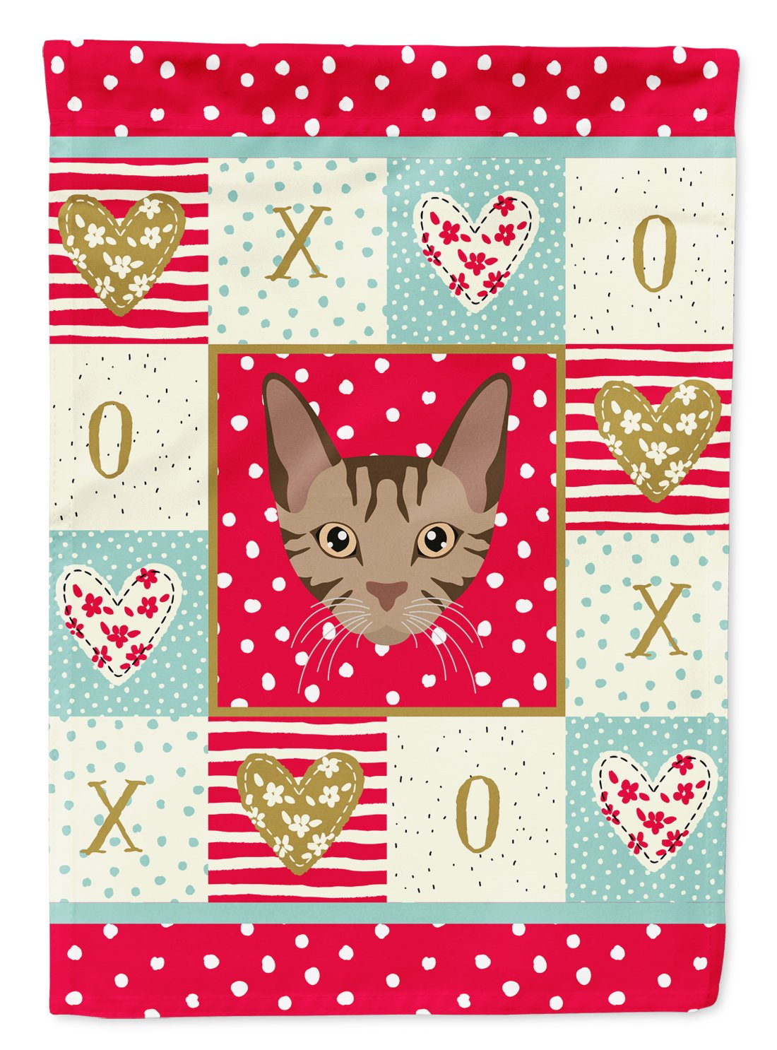 Sokoke Cat Flag Garden Size CK5168GF by Caroline's Treasures