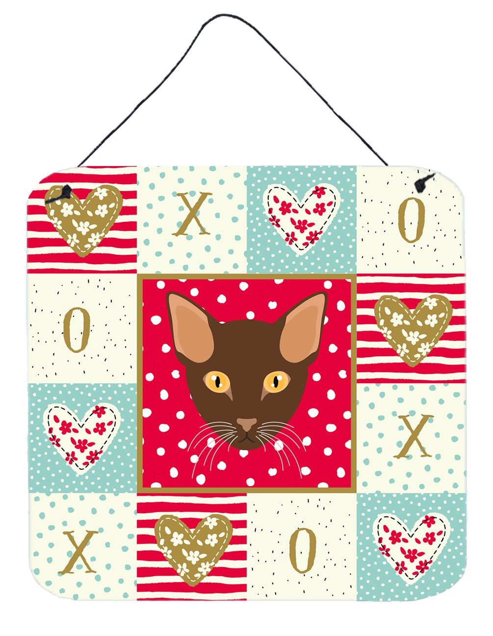 Buy this Suphalak Cat Love Wall or Door Hanging Prints CK5171DS66