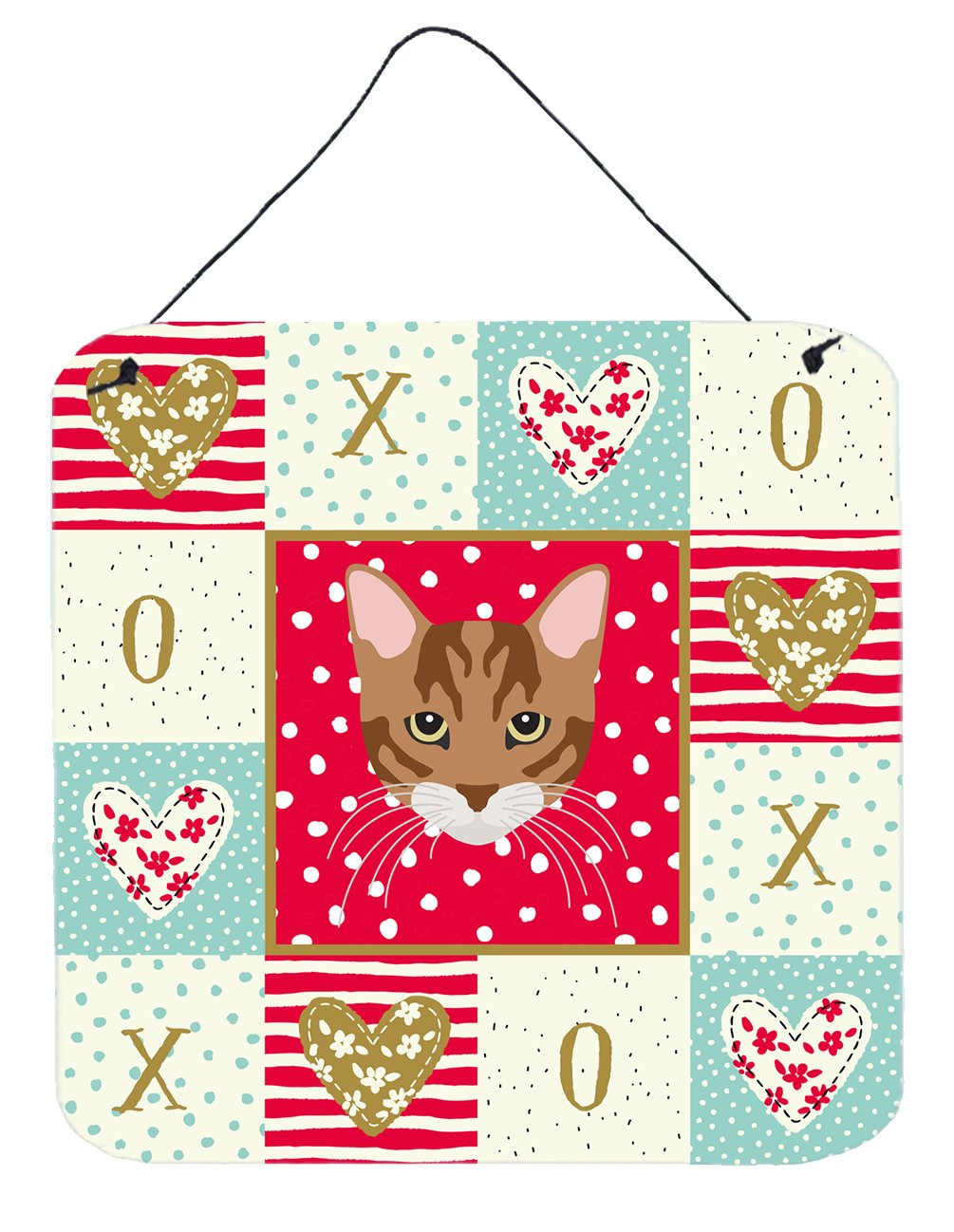 Buy this Toyger Cat Love Wall or Door Hanging Prints CK5174DS66
