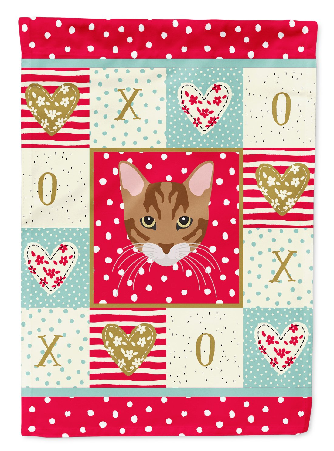 Toyger Cat Flag Garden Size CK5174GF by Caroline's Treasures