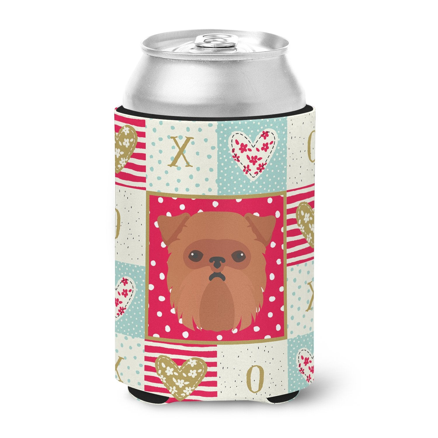 Brussels Griffon Love Can or Bottle Hugger CK5188CC by Caroline's Treasures