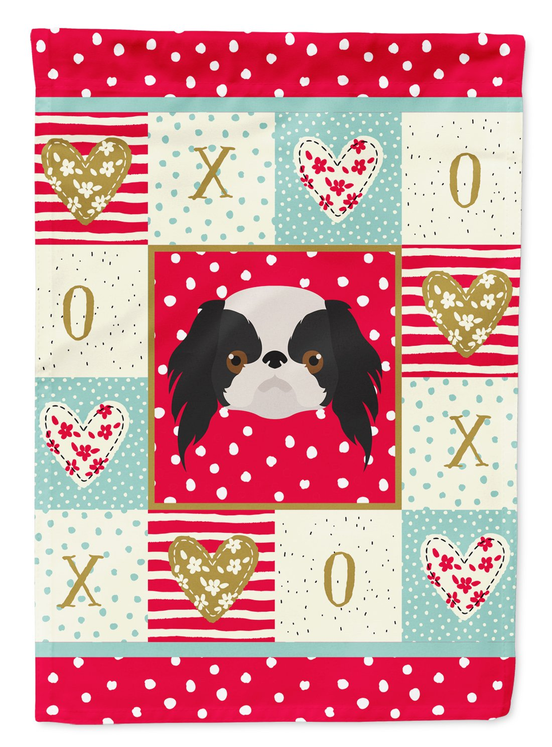 Buy this Japanese Chin Flag Garden Size CK5209GF