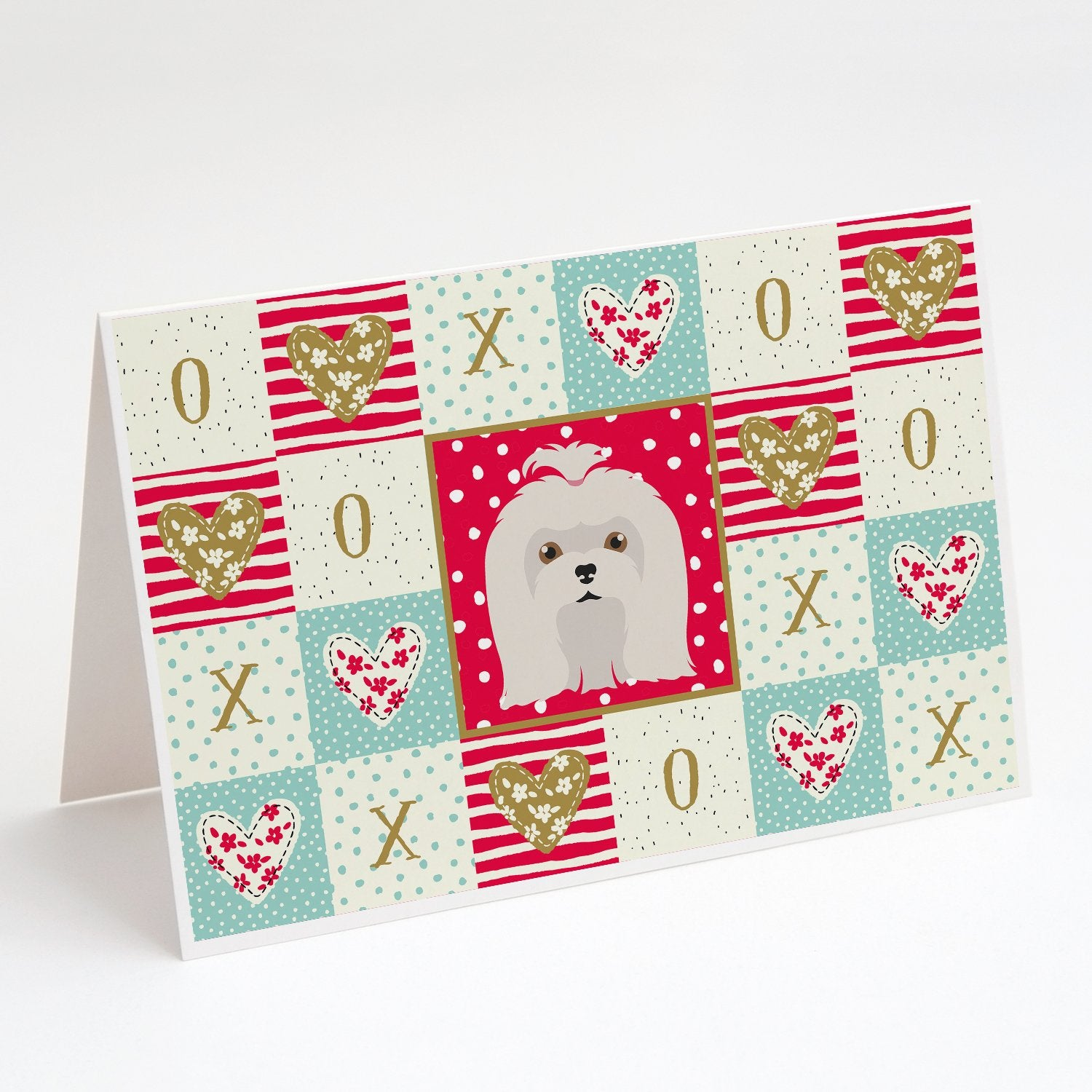 Buy this Maltese Love Greeting Cards and Envelopes Pack of 8