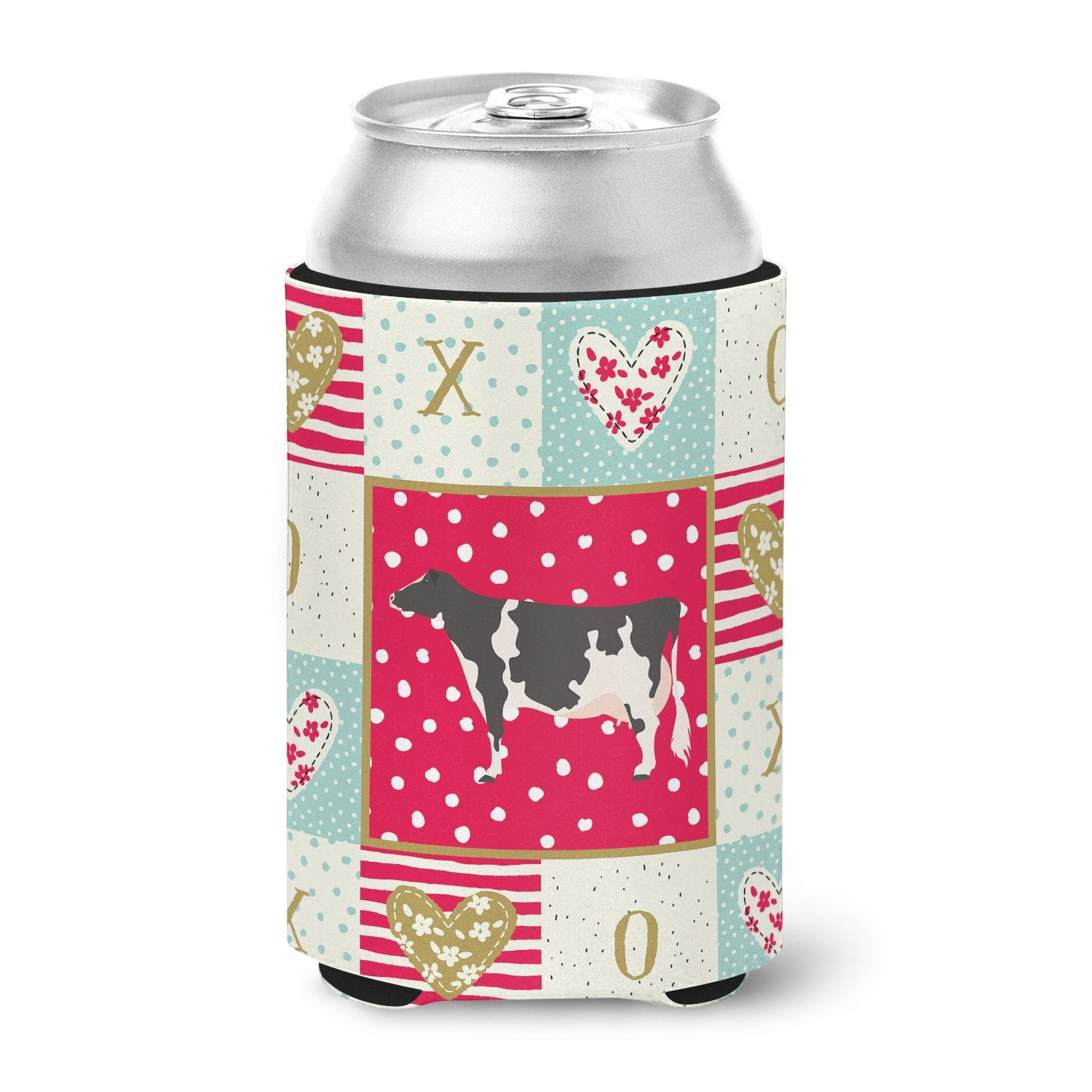 Holstein Cow Love Can or Bottle Hugger CK5249CC by Caroline's Treasures