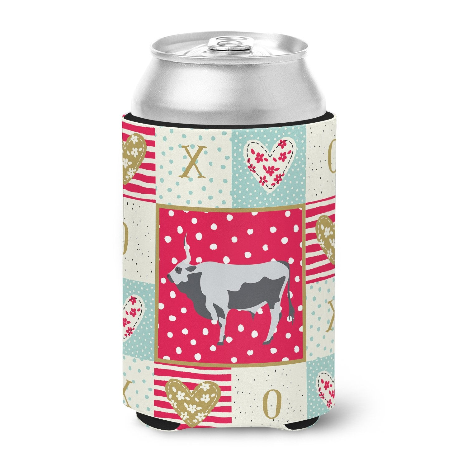 Buy this Hungarian Grey Steppe Cow Love Can or Bottle Hugger CK5251CC