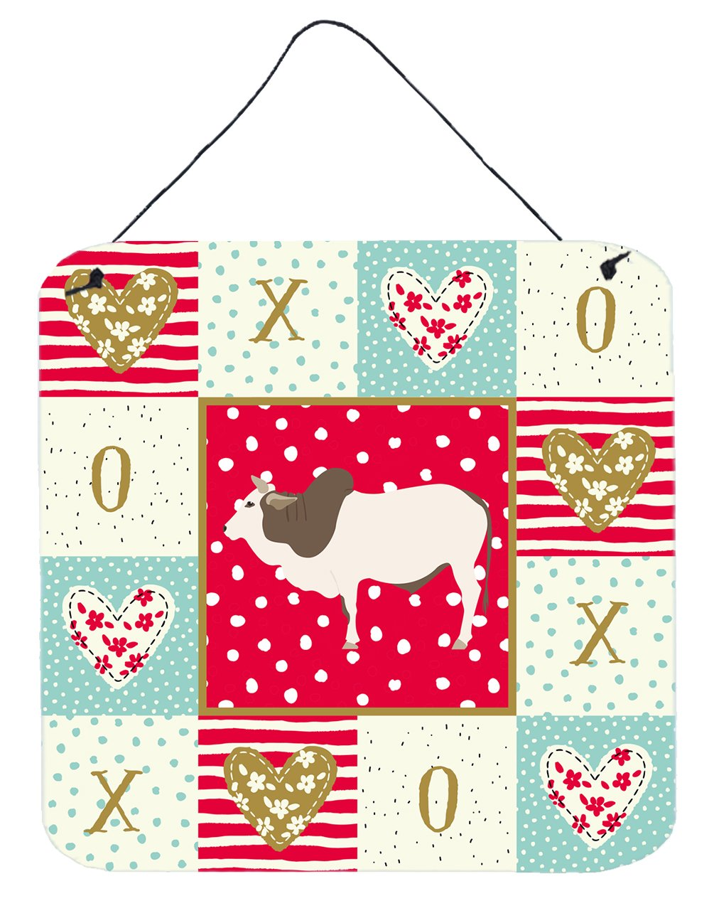 Buy this Malvi Cow Love Wall or Door Hanging Prints CK5257DS66