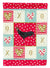 Minorca Ctalalan Chicken Love Flag Garden Size CK5268GF by Caroline's Treasures