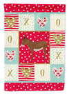 Cotentin Donkey Love Flag Garden Size CK5276GF by Caroline's Treasures