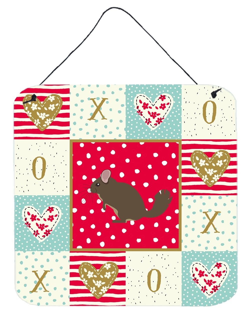 Buy this Chinchilla Love Wall or Door Hanging Prints CK5302DS66