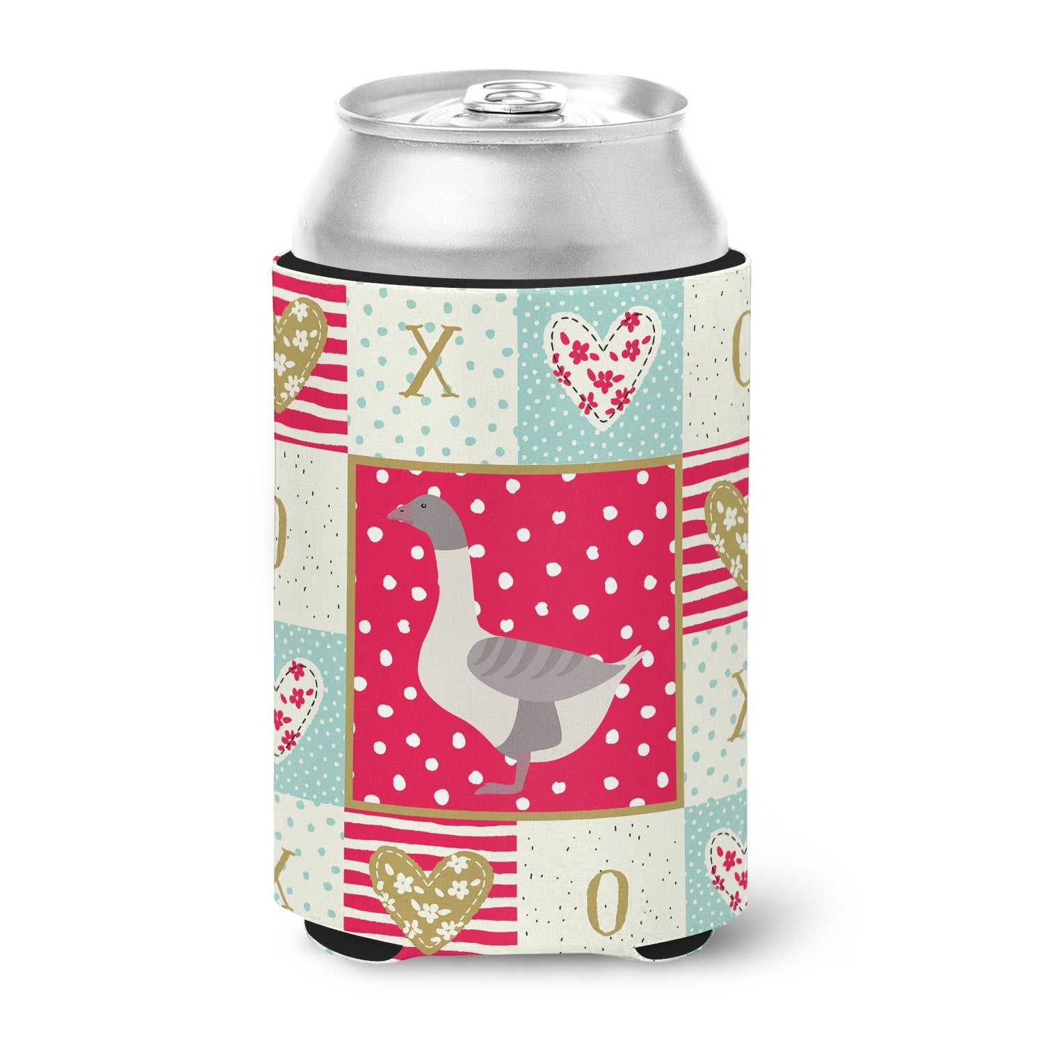 Buy this Buff Grey Back Goose Love Can or Bottle Hugger CK5328CC
