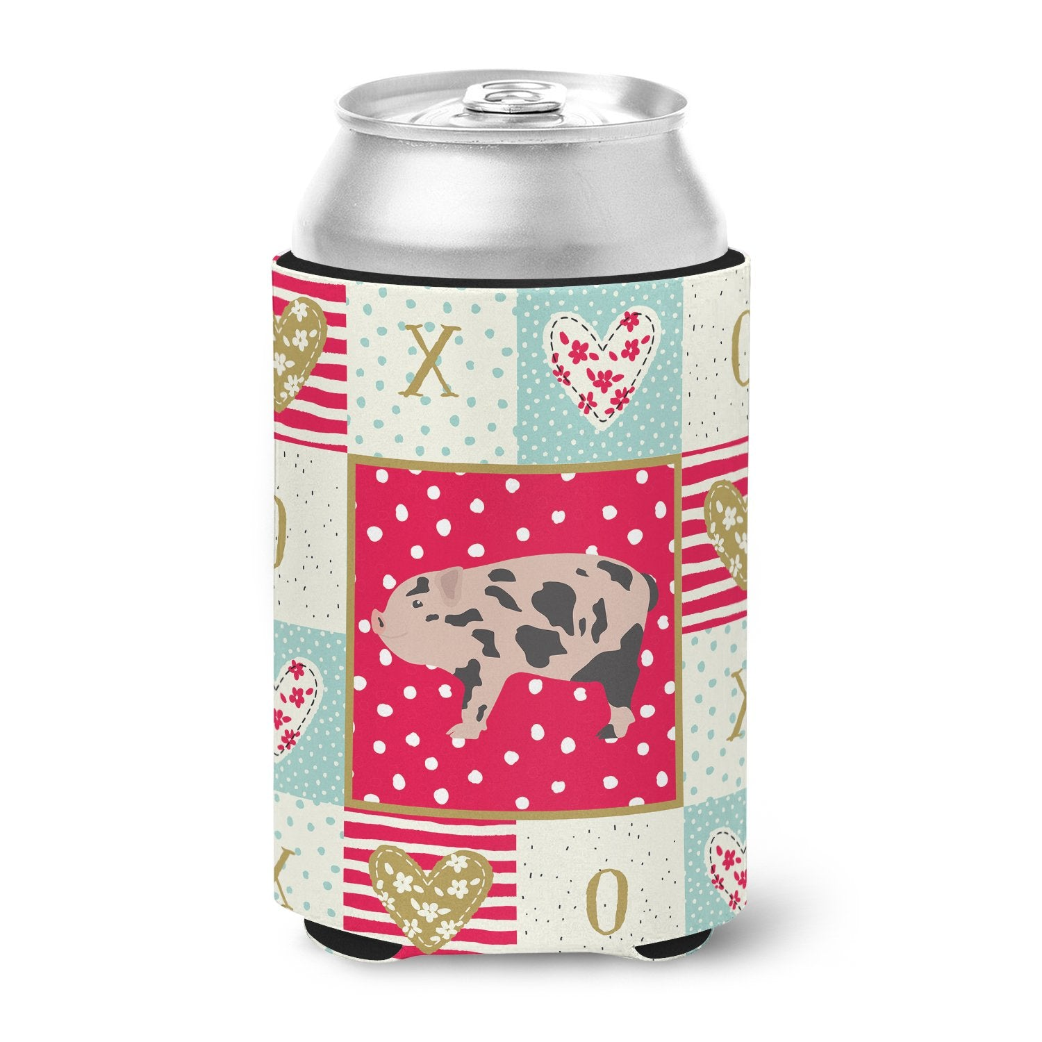 Mini Miniature Pig Love Can or Bottle Hugger CK5362CC by Caroline's Treasures