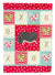 Vietnamese Pot-Bellied Pig Love Flag Canvas House Size CK5368CHF by Caroline's Treasures