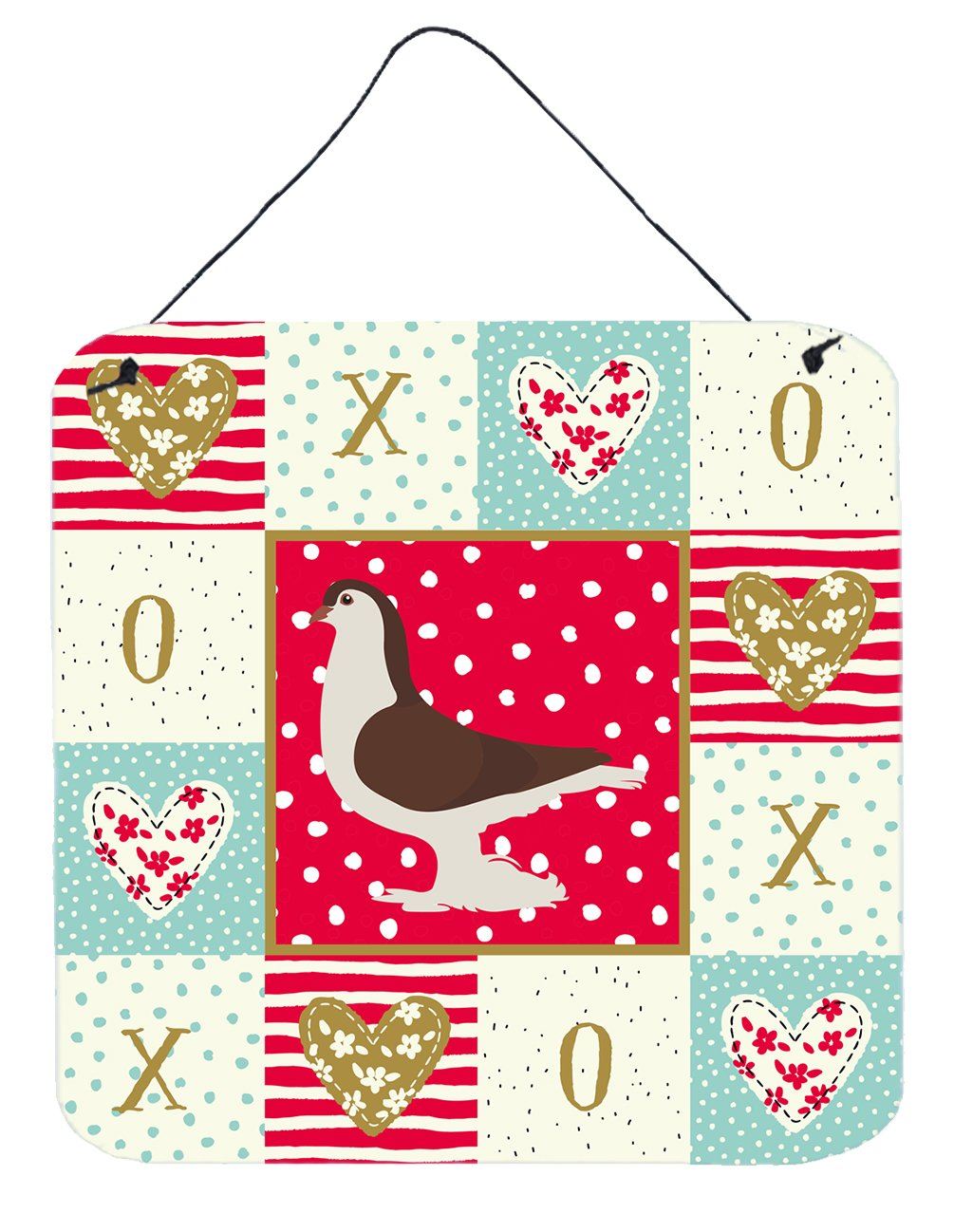 Buy this Large Pigeon Love Wall or Door Hanging Prints CK5370DS66