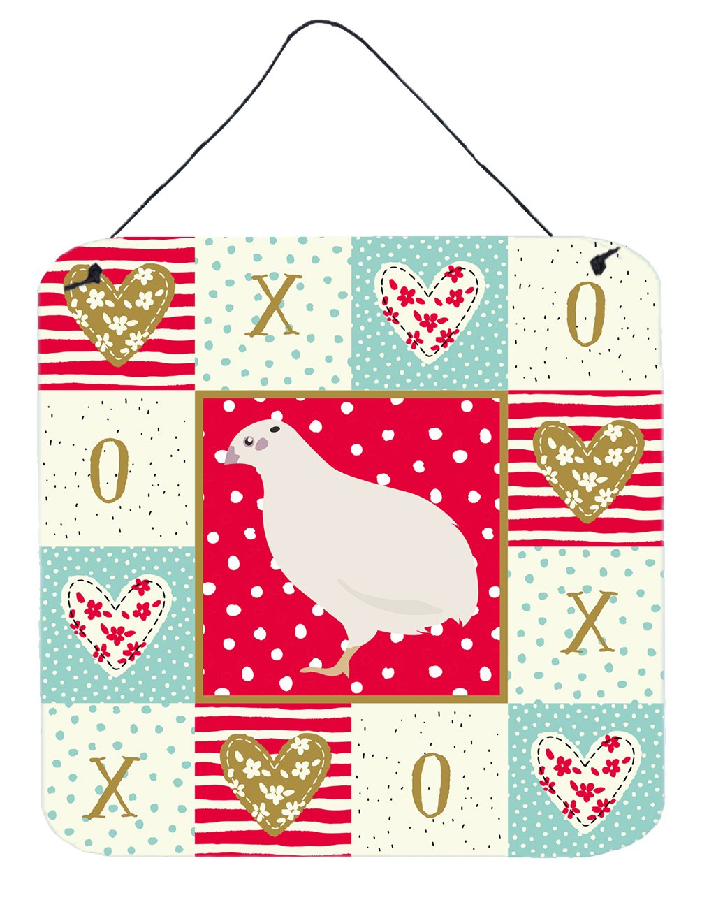 Buy this Texas Quail Love Wall or Door Hanging Prints CK5384DS66