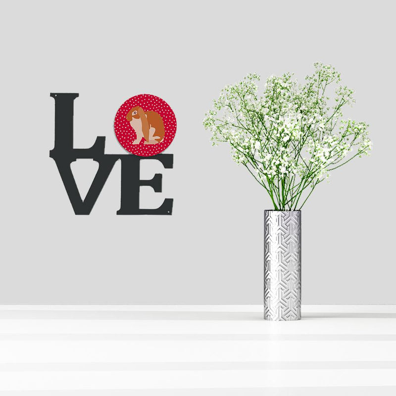 Buy this English Lop Rabbit Love Metal Wall Artwork LOVE CK5389WALV