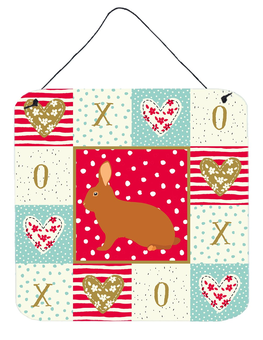 Buy this Rex Rabbit Love Wall or Door Hanging Prints CK5396DS66