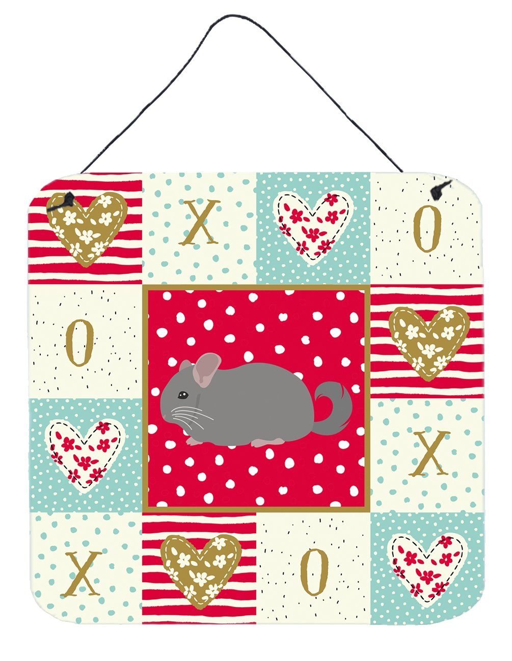 Buy this Agouti Chinchilla Love Wall or Door Hanging Prints CK5418DS66