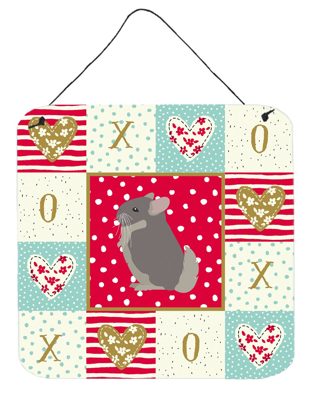 Buy this Beige Wellman Chinchilla Love Wall or Door Hanging Prints CK5419DS66