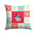 Buy this Black Velvet Chinchilla Love Fabric Decorative Pillow CK5420PW1414