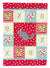 Foggy Chinchilla Love Flag Garden Size CK5422GF by Caroline's Treasures