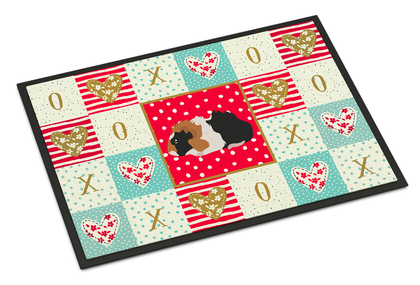 Abyssinian Guinea Pig Love Indoor or Outdoor Mat 18x27 CK5426MAT by Caroline's Treasures
