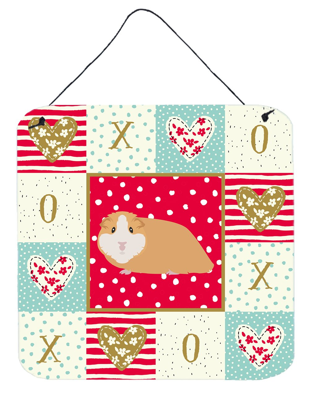 Buy this American Guinea Pig Love Wall or Door Hanging Prints CK5427DS66