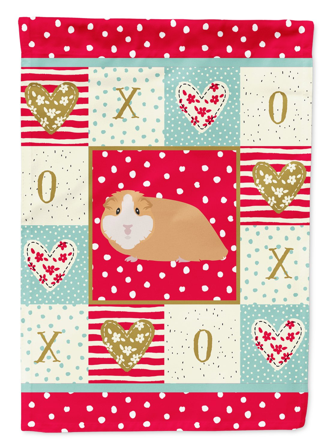 American Guinea Pig Love Flag Garden Size CK5427GF by Caroline's Treasures