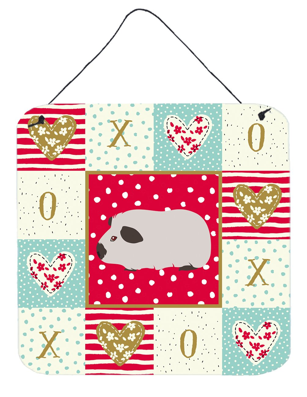 Buy this Himalayan Guinea Pig Love Wall or Door Hanging Prints CK5429DS66