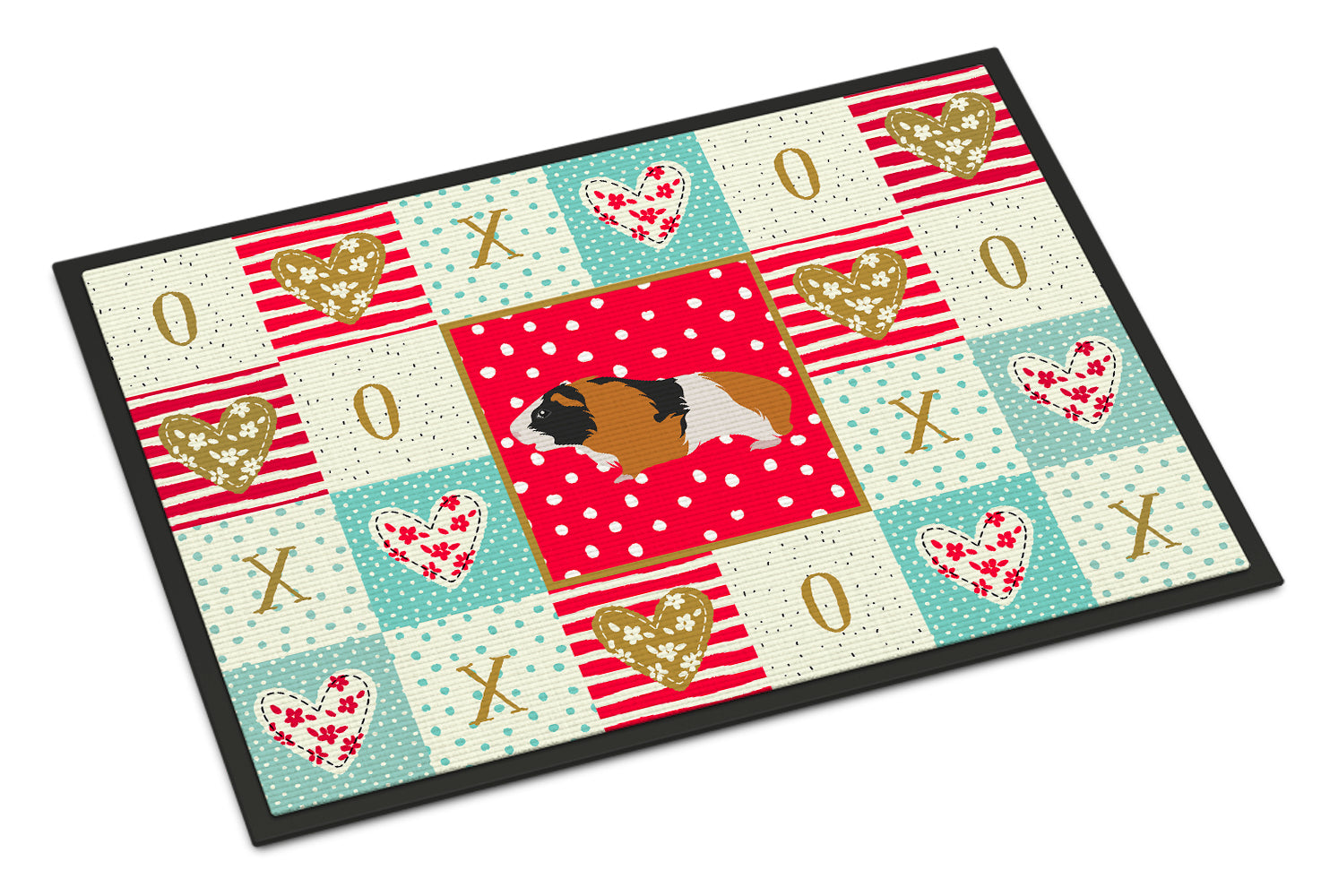 Rex Guinea Pig Love Indoor or Outdoor Mat 18x27 CK5432MAT by Caroline's Treasures