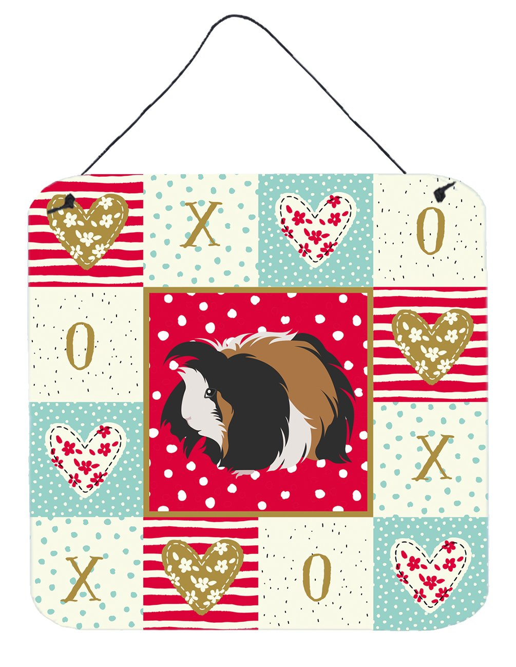 Buy this Sheba Guinea Pig Love Wall or Door Hanging Prints CK5433DS66