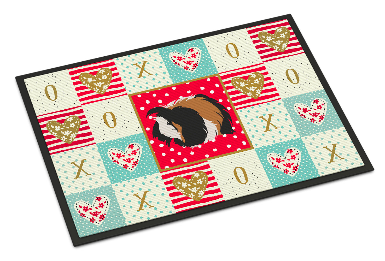 Sheba Guinea Pig Love Indoor or Outdoor Mat 18x27 CK5433MAT by Caroline's Treasures