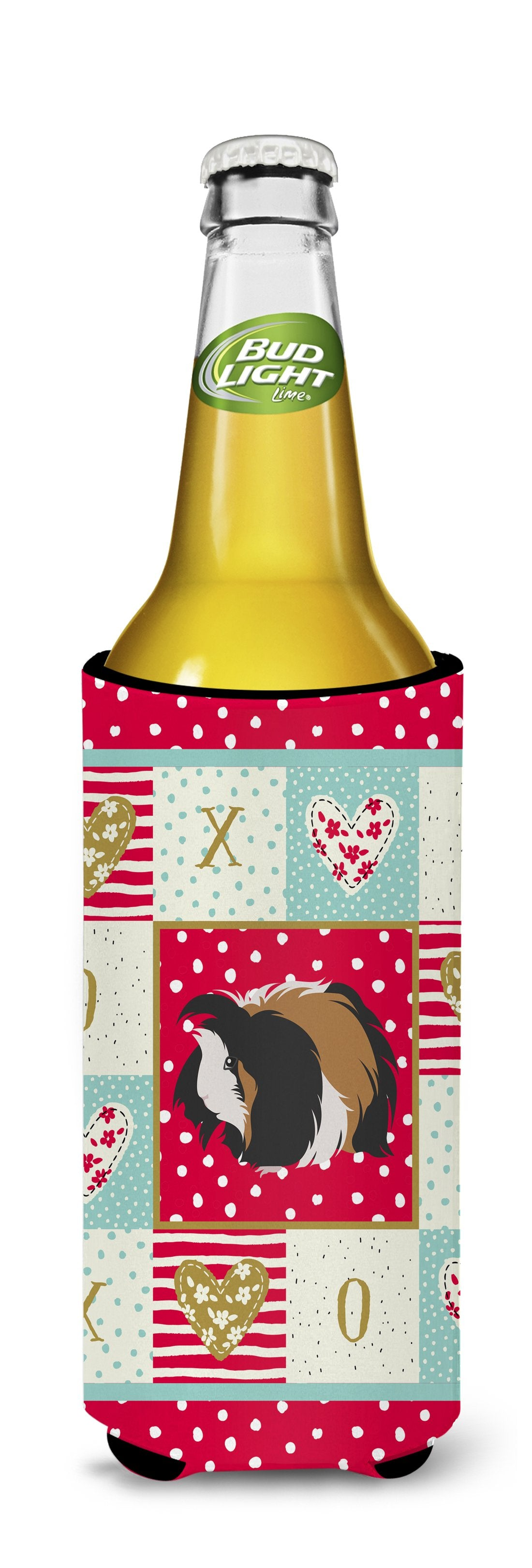 Sheba Guinea Pig Love Michelob Ultra Hugger for slim cans CK5433MUK by Caroline's Treasures